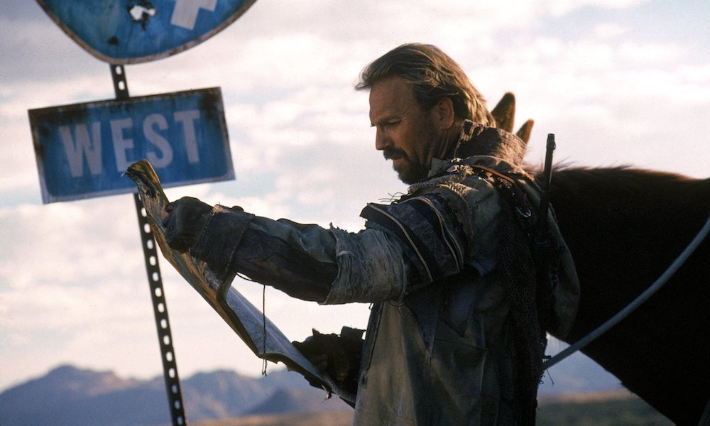 Kevin Costner in The Postman: Earth Day on Hollywood Suite