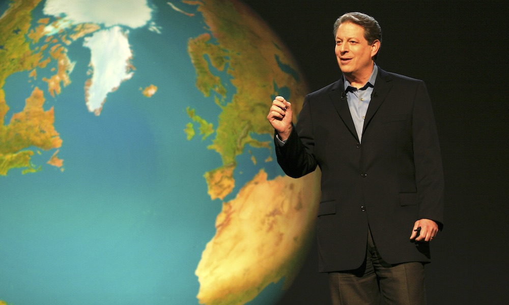 Al Gore in An Inconvenient Truth: Earth Day on Hollywood Suite