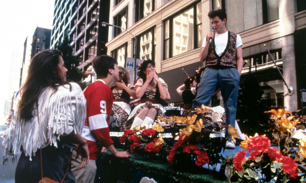 Matthew Broderick in John Hughes's Ferris Bueller's Day Off (1986)