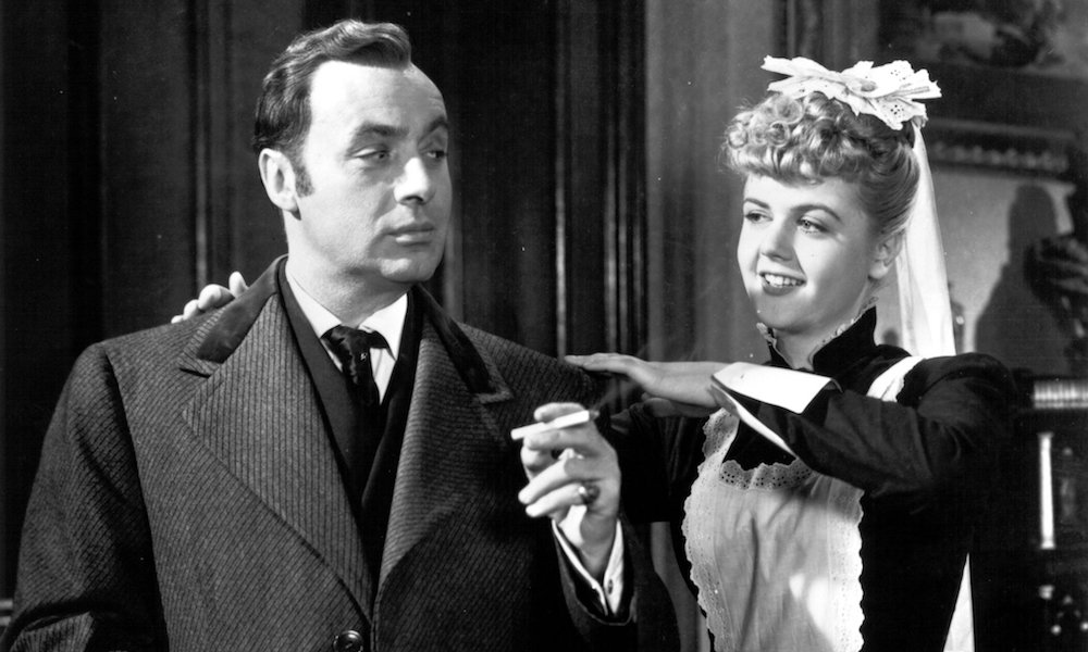 Charles Boyer and Angela Lansbury in George Cukor's Gaslight (1944)