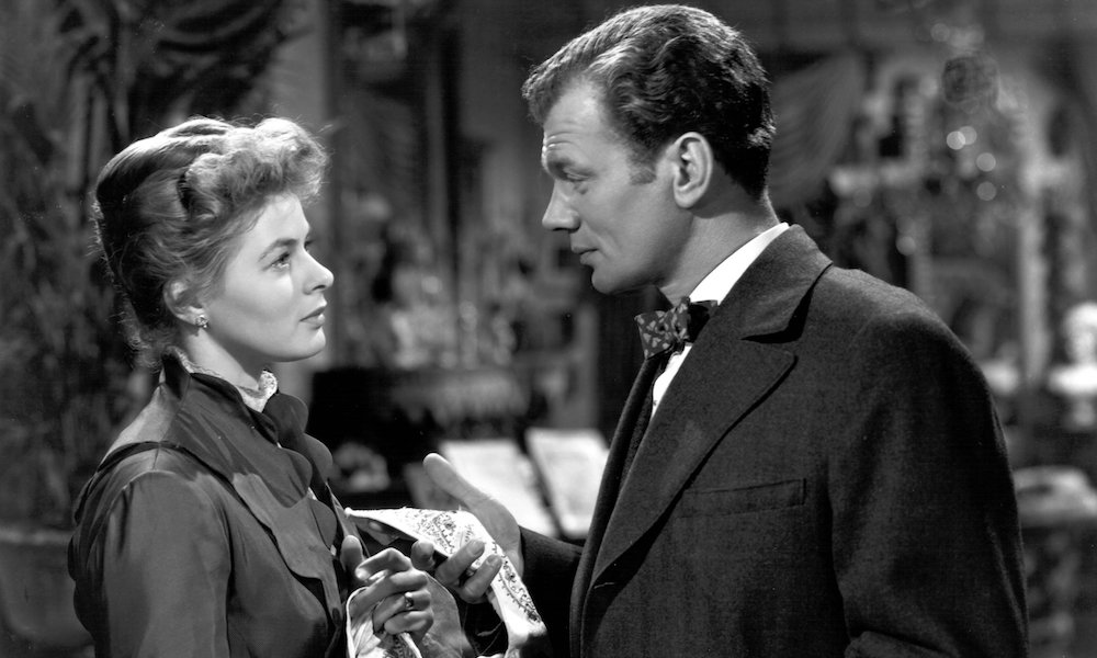 Ingrid Bergman and Joseph Cotten in George Cukor's Gaslight (1944)