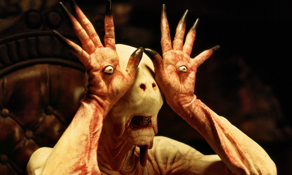 A monster in Pan's Labyrinth
