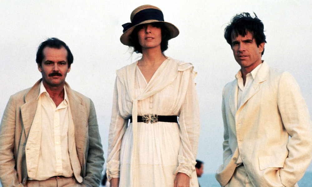 Jack Nicholson, Diane Keaton and Warren Beatty in Reds