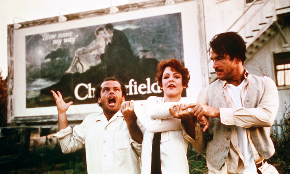 Jack Nicholson, Stockard Channing and Warren Beatty in The Fortune