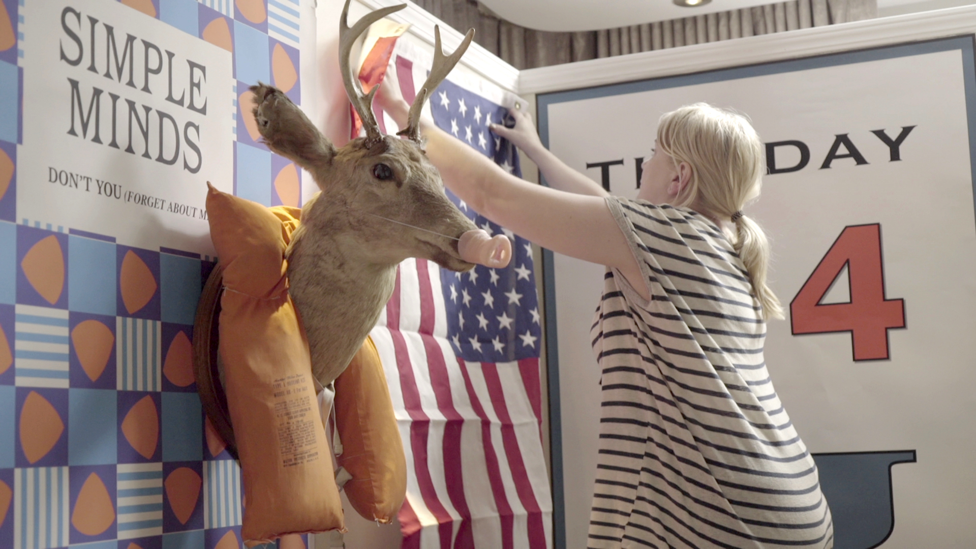 Sarah Keenlyside in Ferris's Room