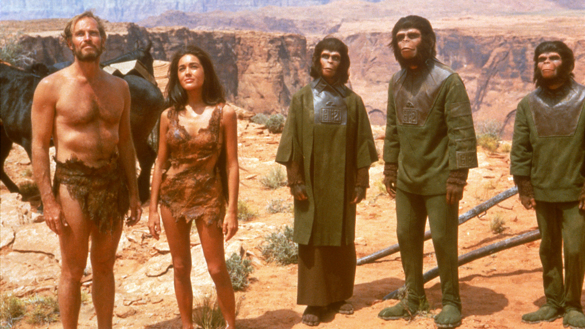 Cast of the original Planet of the Apes