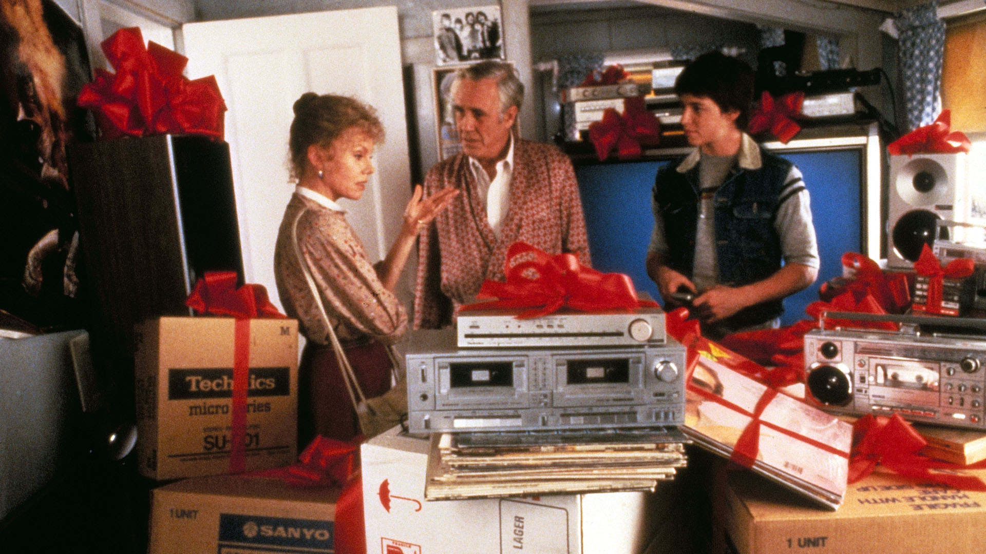 Marsha Mason, Jason Robards and Matthew Broderick in Max Duggan Returns: Father's Day Films on Hollywood Suite