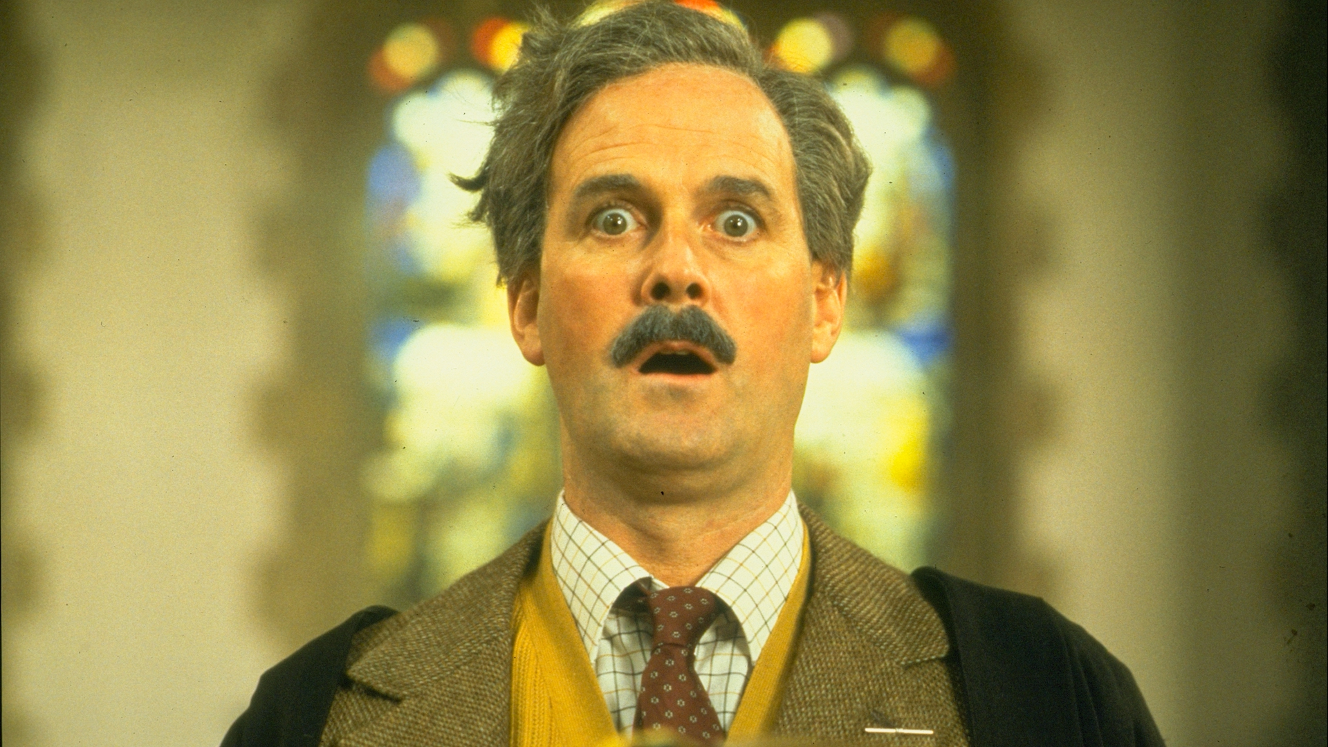 John Cleese in Monty Python's The Meaning of Life on Hollywood Suite
