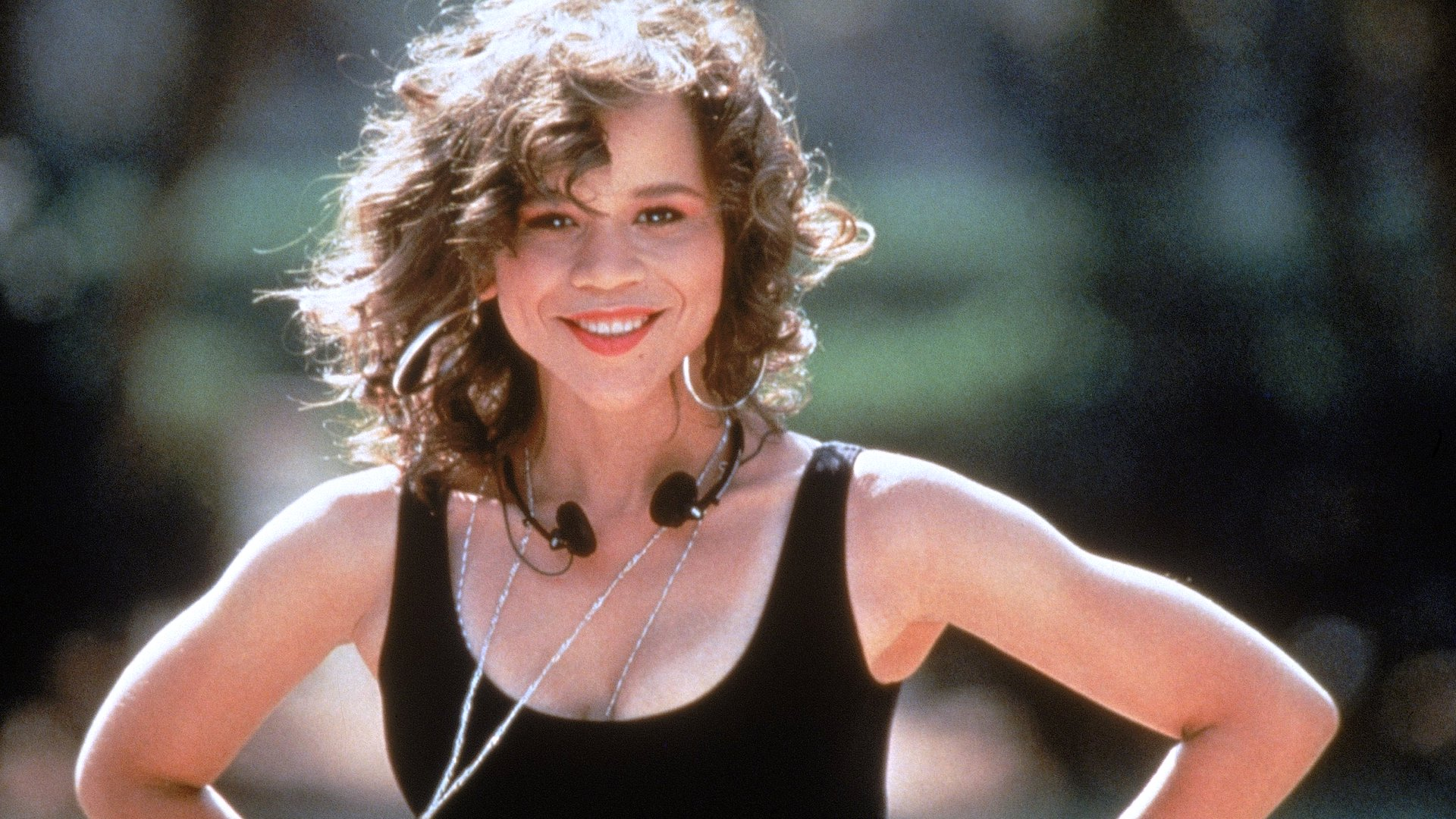 Rosie Perez in Wesley Snipes in White Men Can't Jump