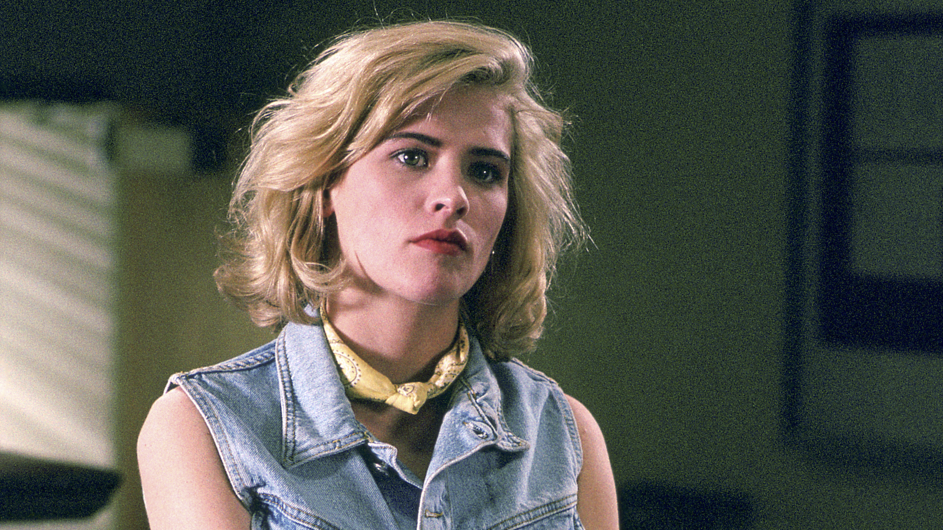 Kristy Swanson in Buffy the Vampire Slayer
