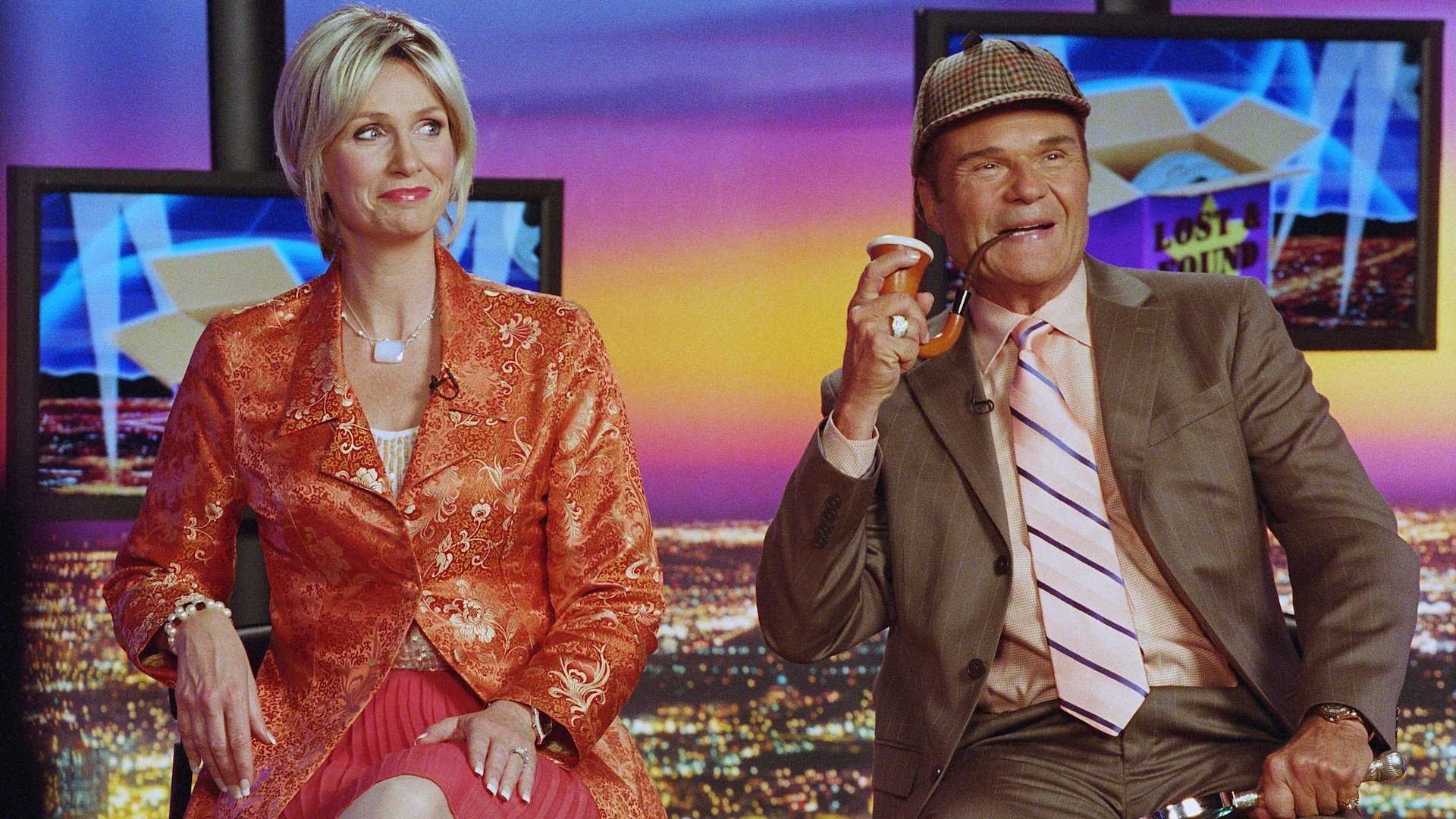 Jane Lynch (left) and Fred Willard (right) in For Your Consideration (2006).