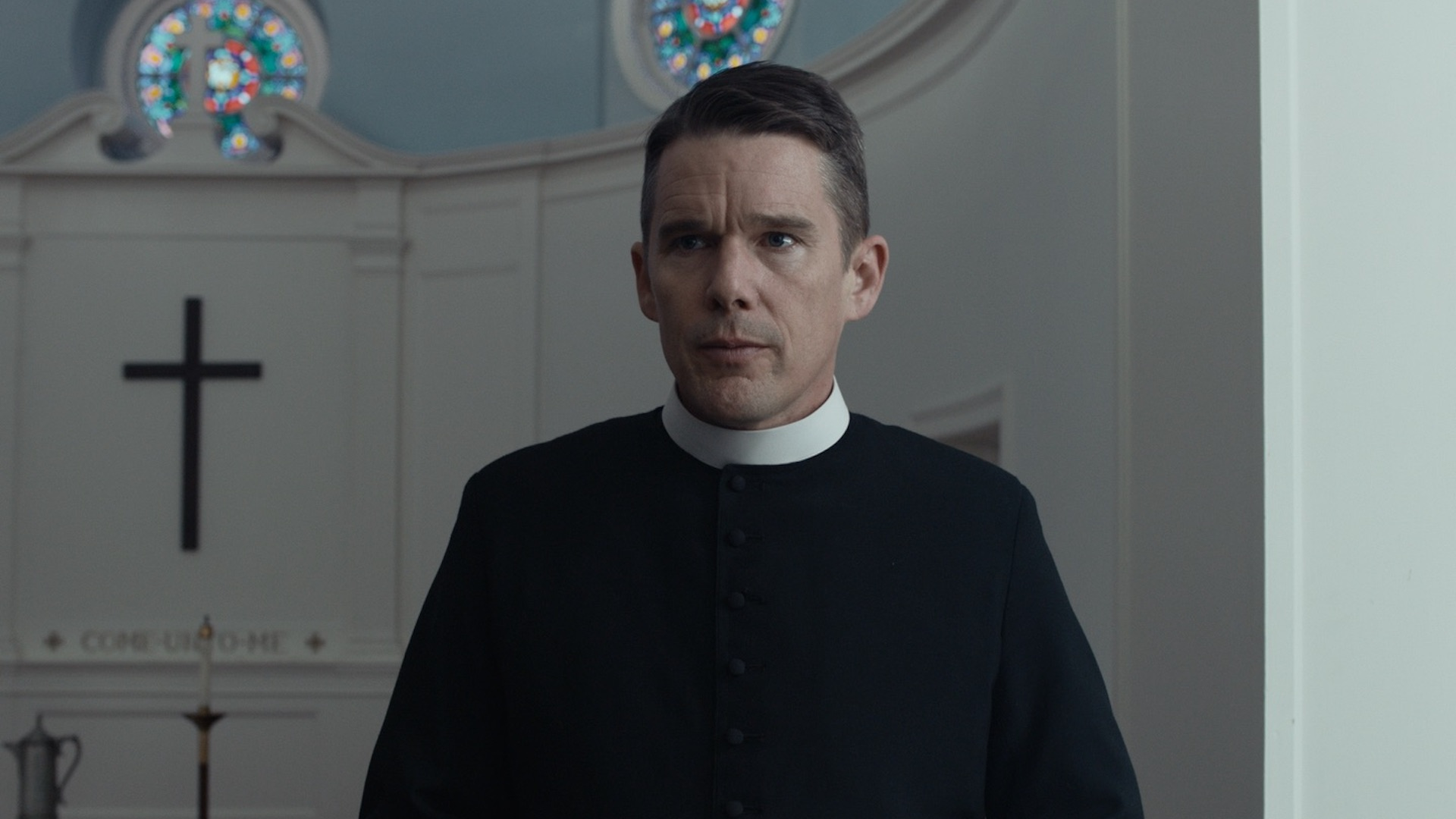 Ethan Hawke in Spirit Awards nominee First Reformed