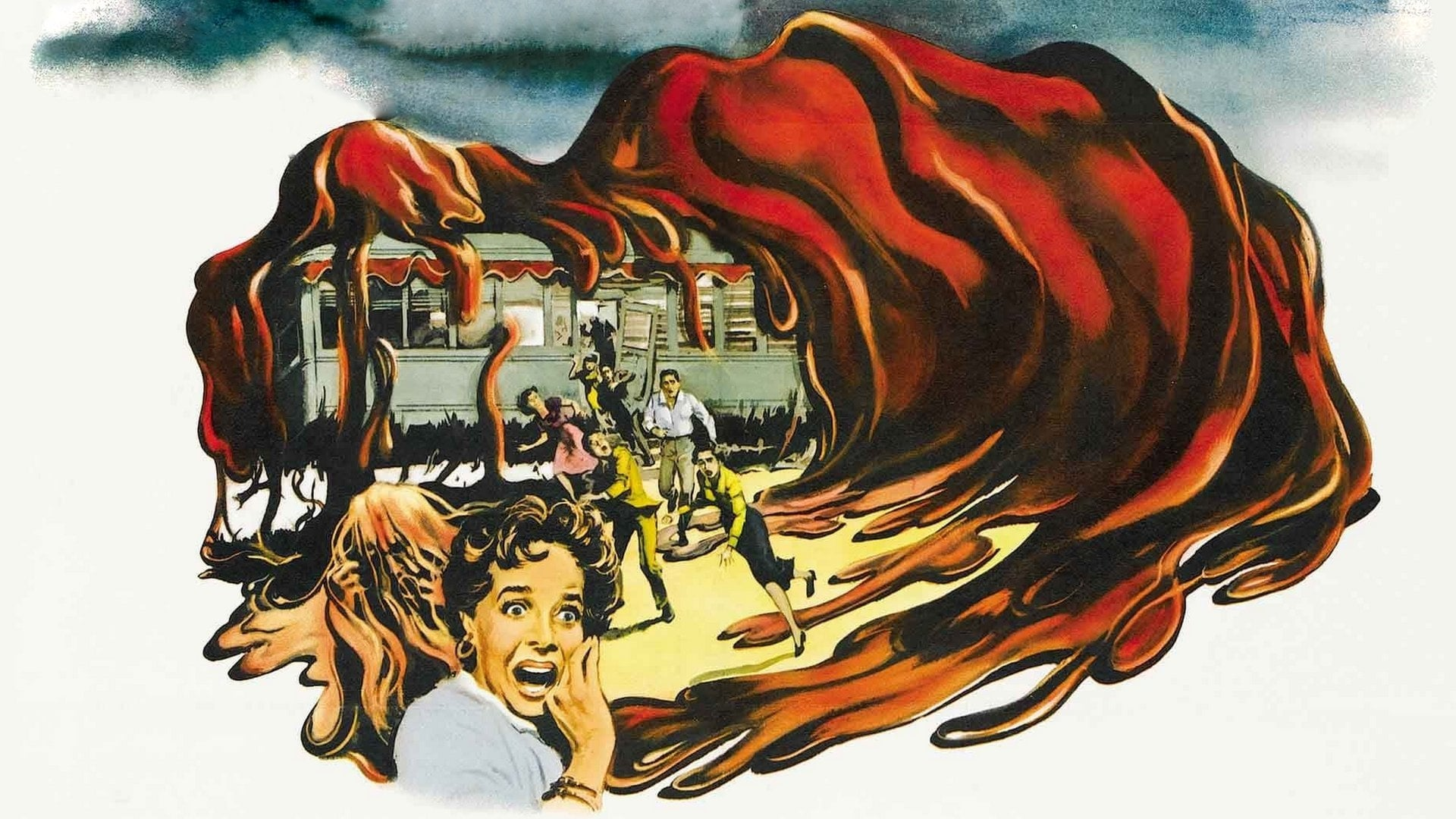 Illustration from The Blob (1958) poster