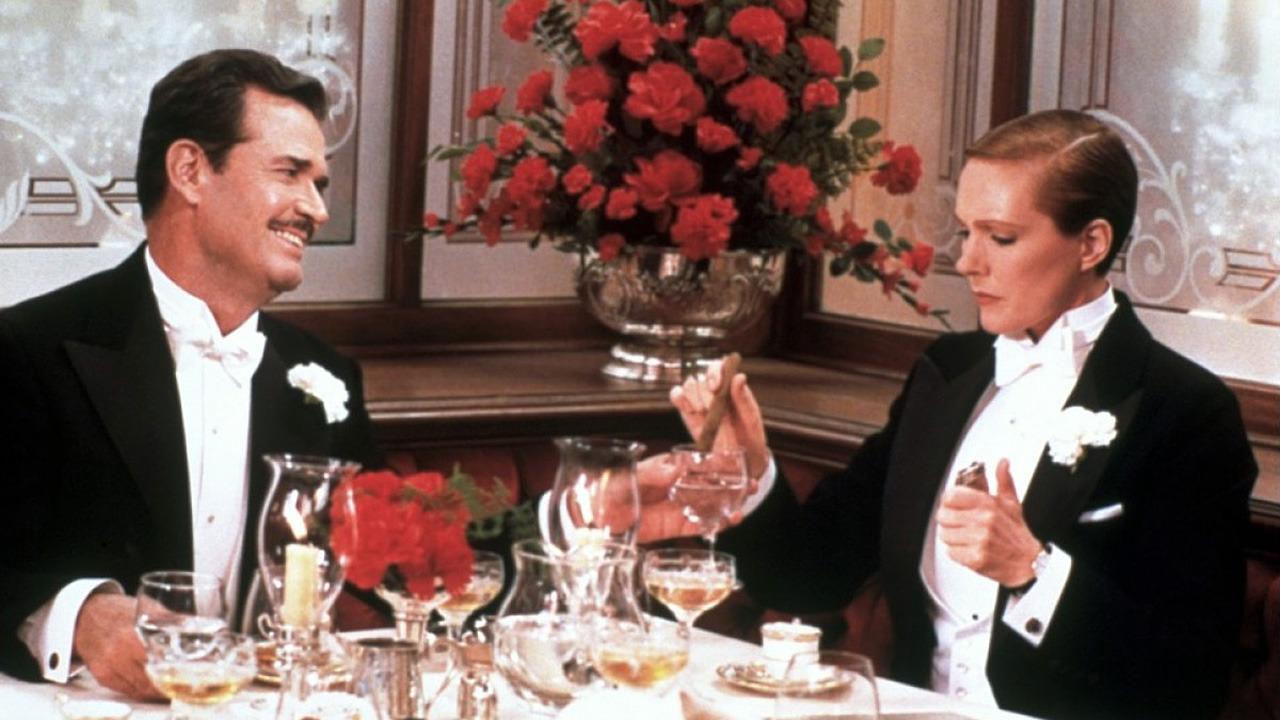 James Garner and Julie Andrews in Victor/Victoria