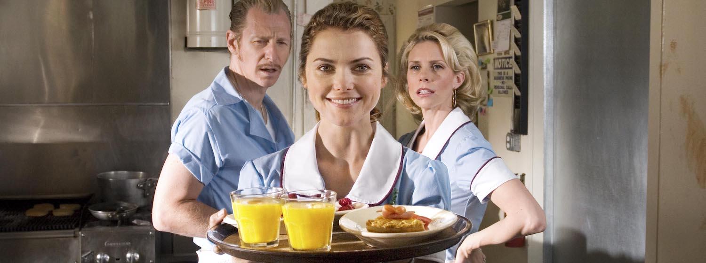 Keri Russel in Waitress