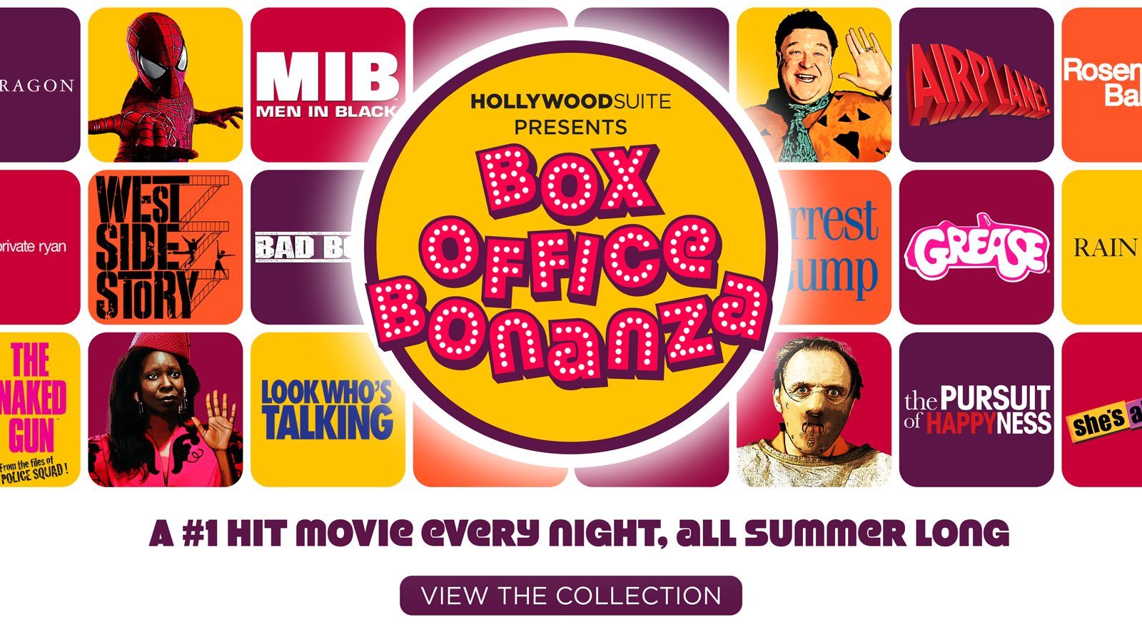 Box Office Bonanza – A #1 hit movie every night, all summer long – LEARN MORE