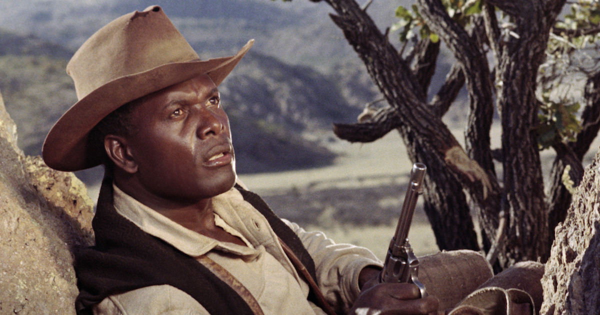 Sidney Poitier in his directorial debut, Buck and the Preacher