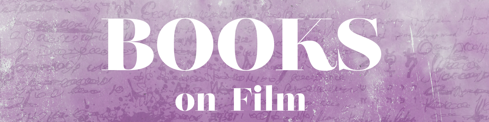 Books on Film