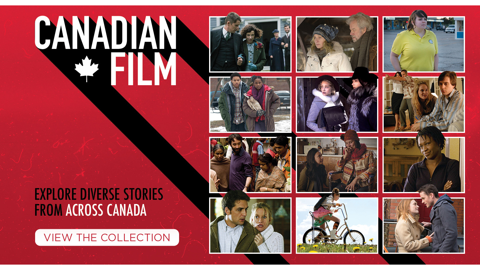 Canadian Film: Explore diverse stories from across Canada [LEARN MORE