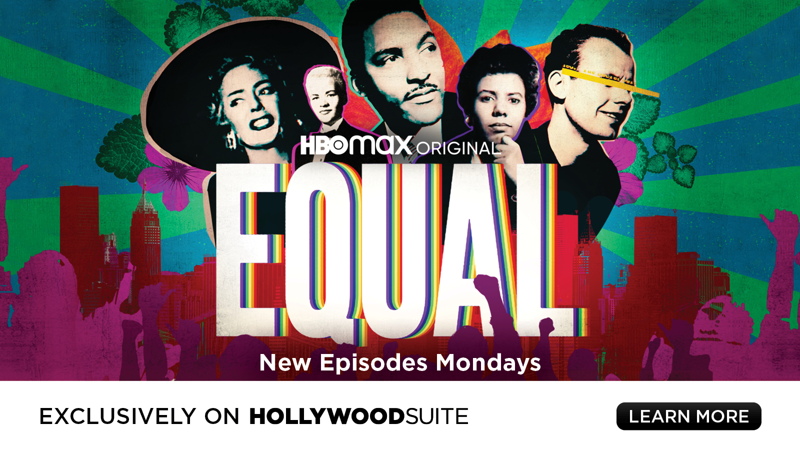 HBOmax Original – EQUAL – New episodes Mondays, exclusively on Hollywood Suite