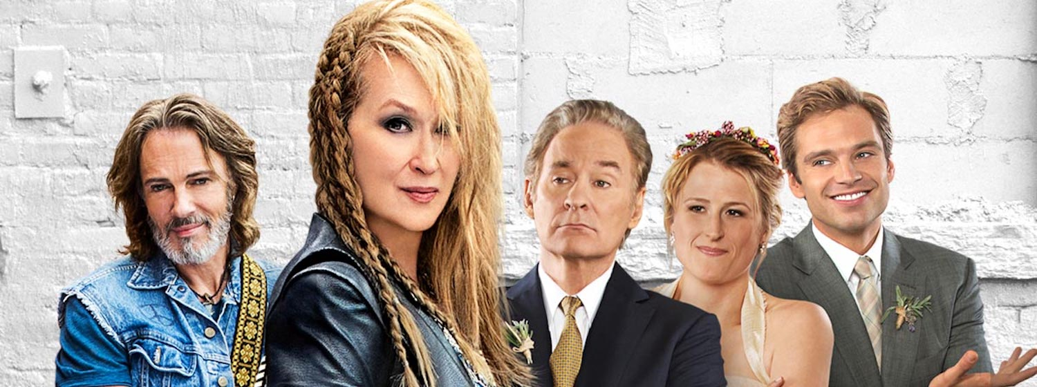 The cast of Ricki and the Flash appears in the poster art for the film