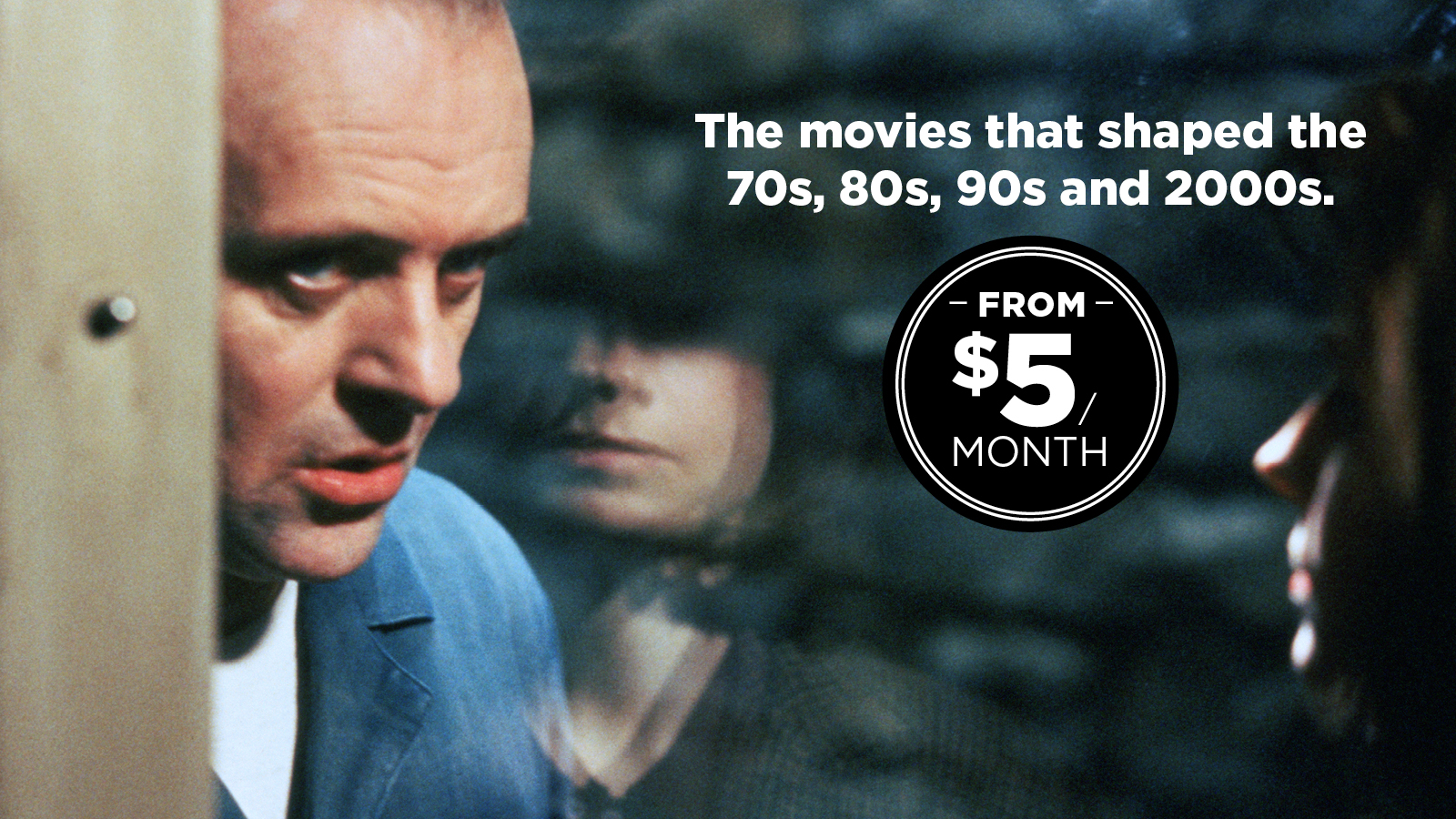 The Movies that Shaped the 70s, 80s, 90s and 2000s. From $5 a month.
