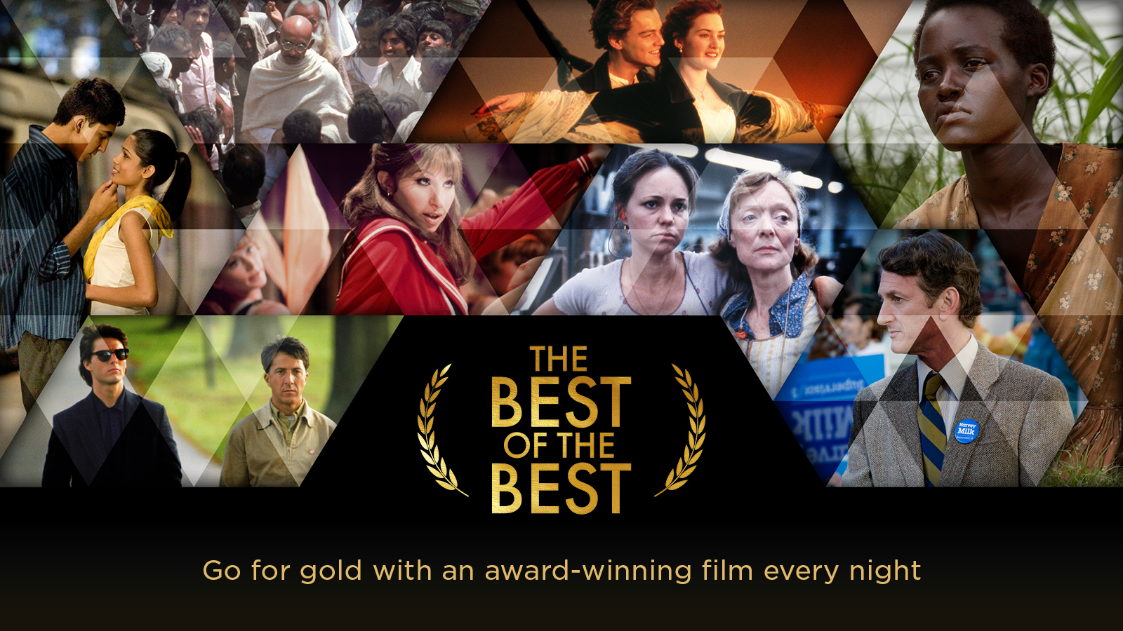The Best of the Best – Go for gold with an award-winning film every night