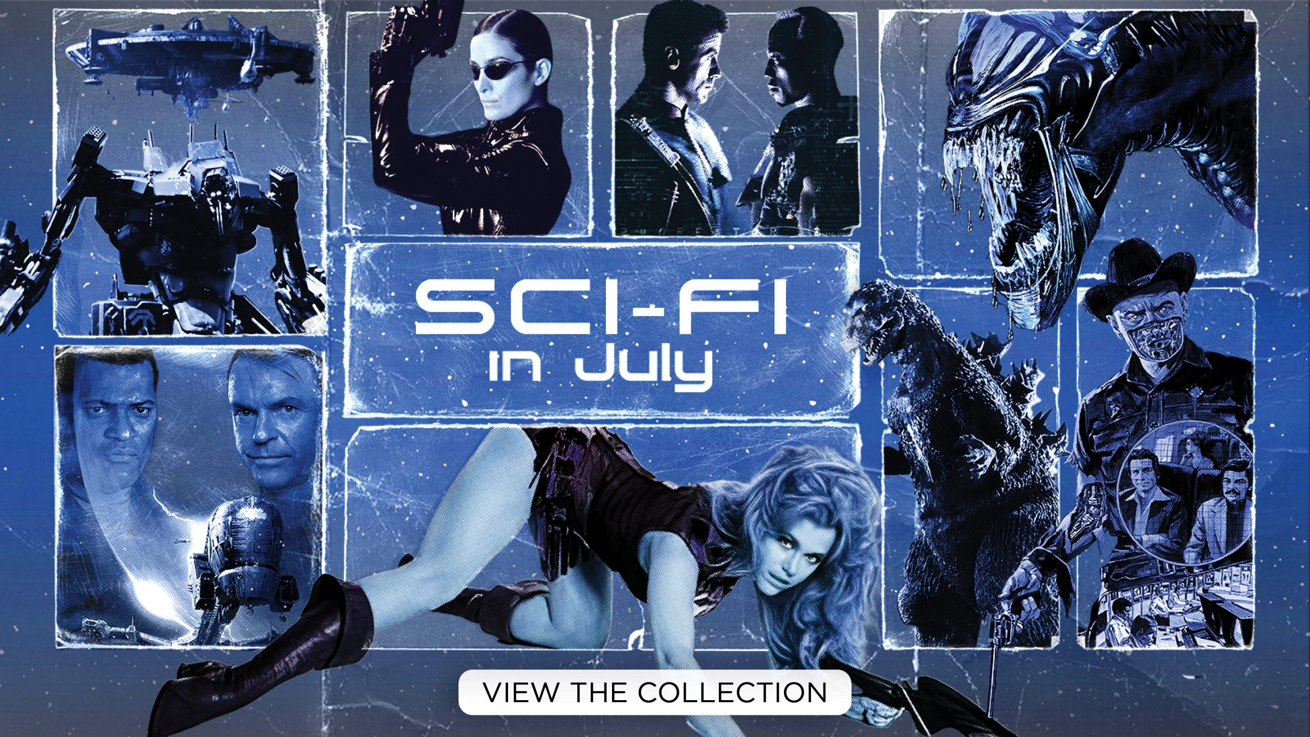 Sci-Fi in July [View the Collection]
