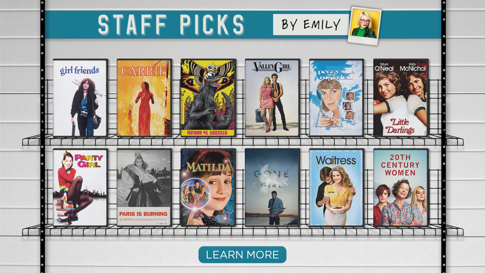 Staff Picks by Emily – Learn More
