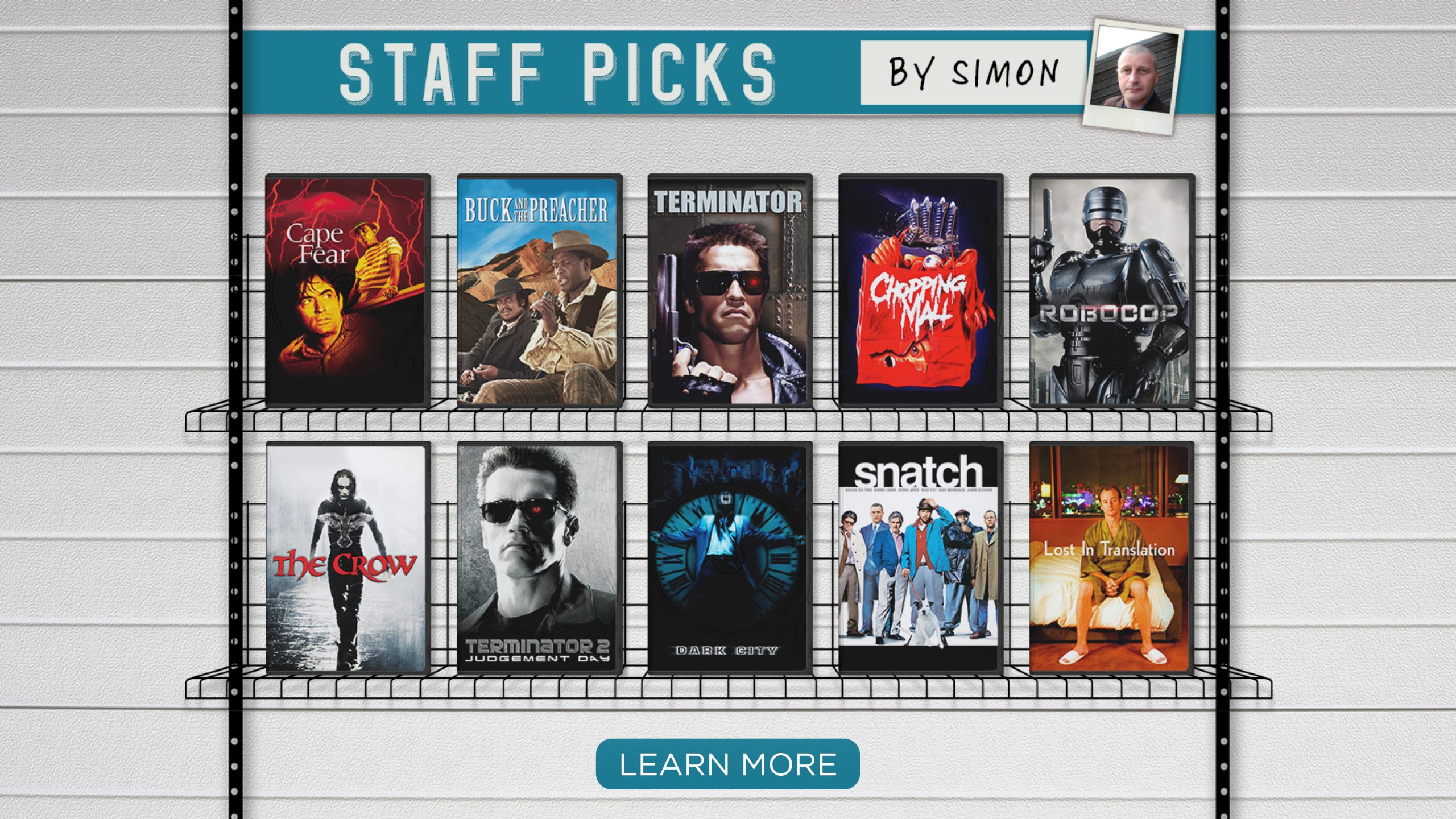 Staff Picks by Simon  [Learn more]