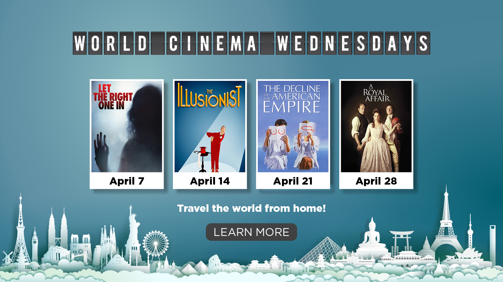 World Cinema Wednesday – Learn More