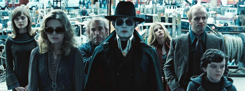 Johnny Depp leads the ensemble cast of Dark Shadows (2012)