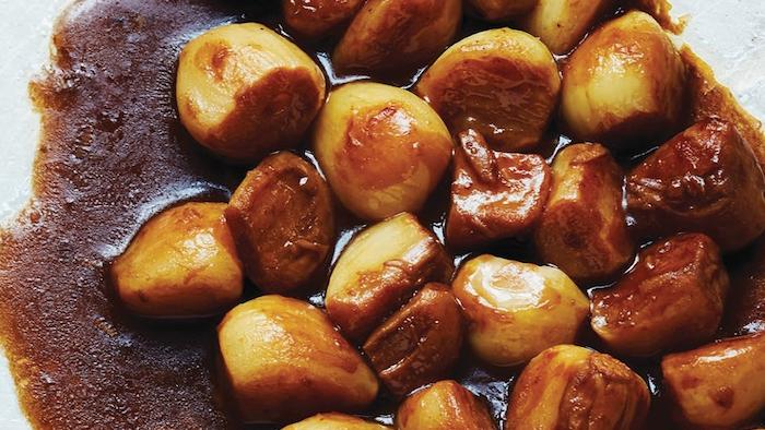 Brad Long's Braised Garlic