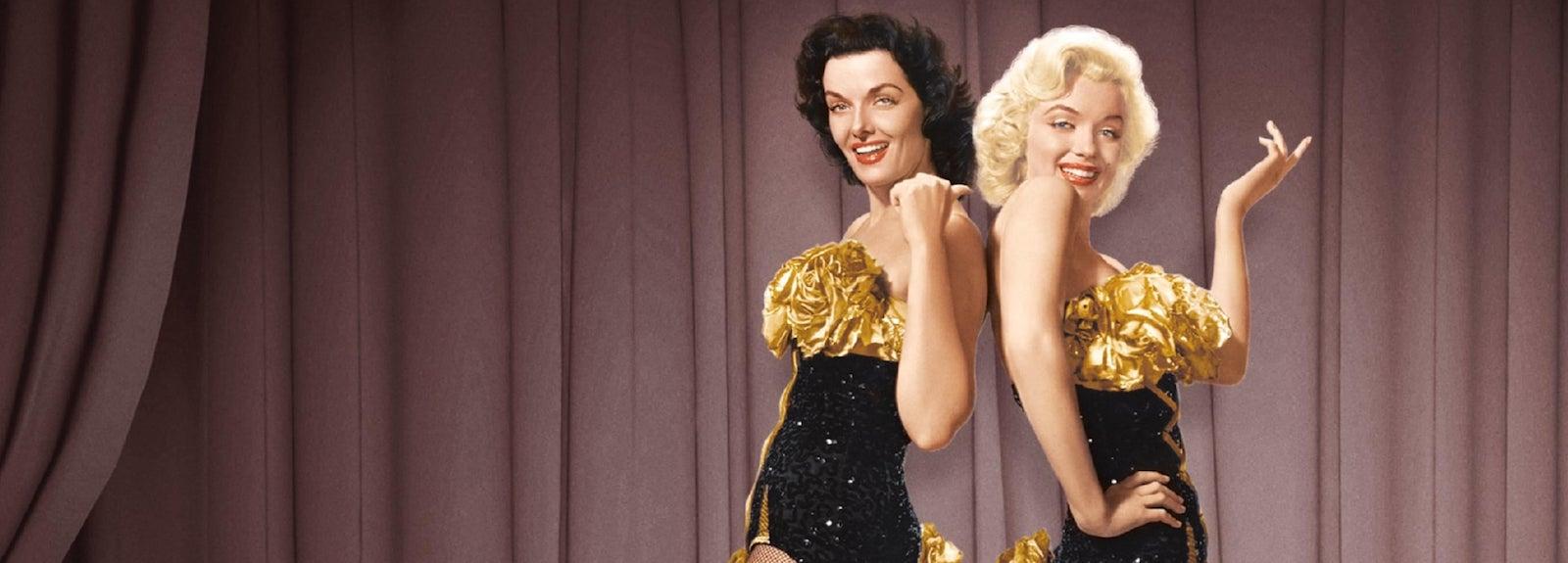 Jane Russell and Marilyn Monroe in Gentlemen Prefer Blondes