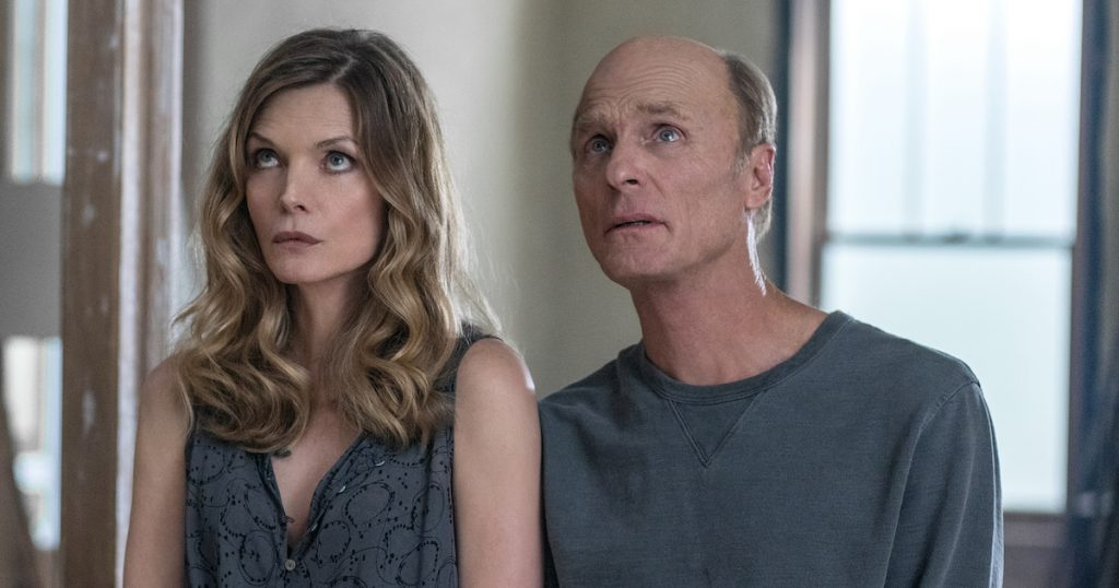 Michelle Pfeiffer and Ed Harris in mother!
