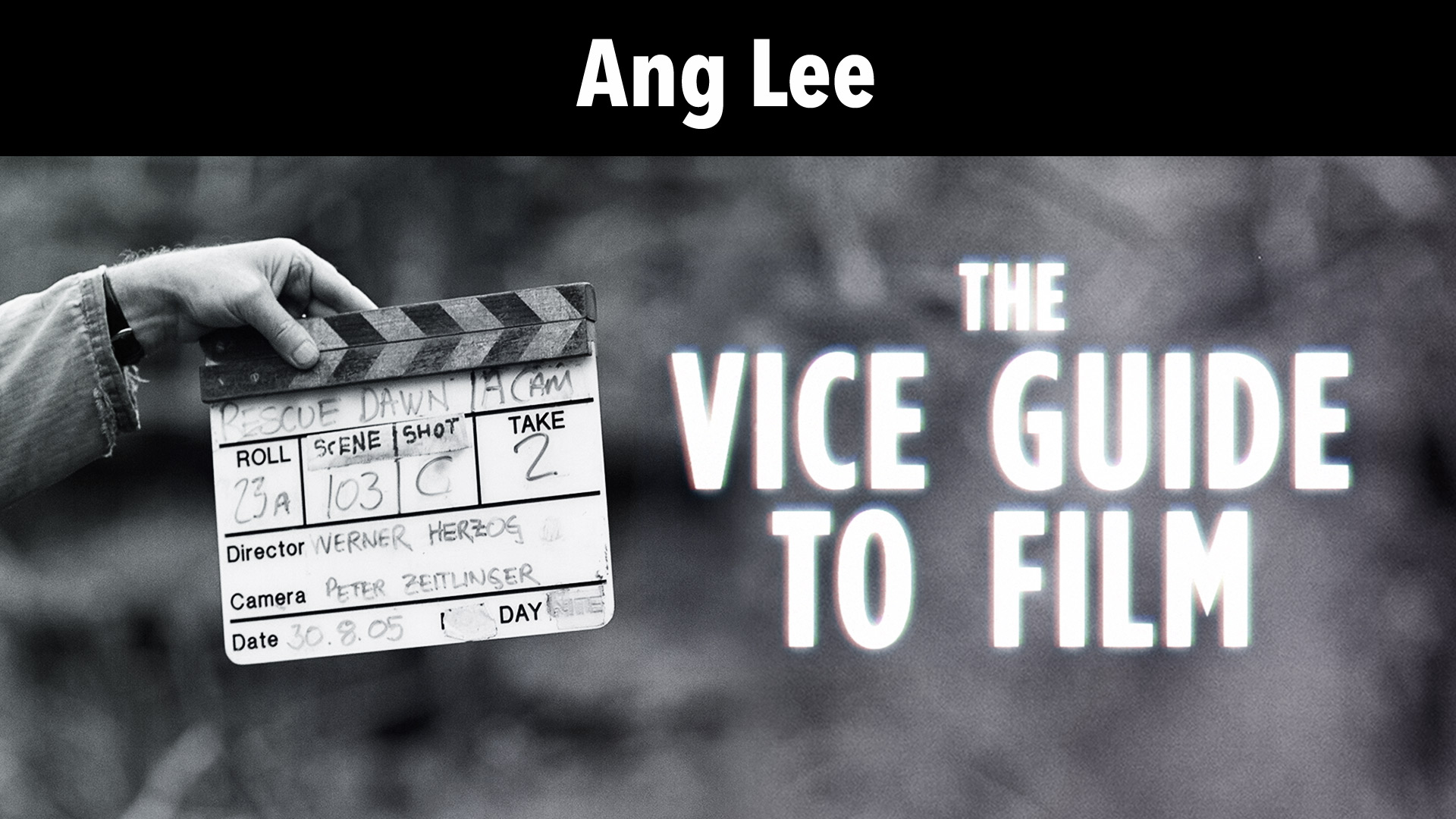 Ang Lee: Vice Guide To Film