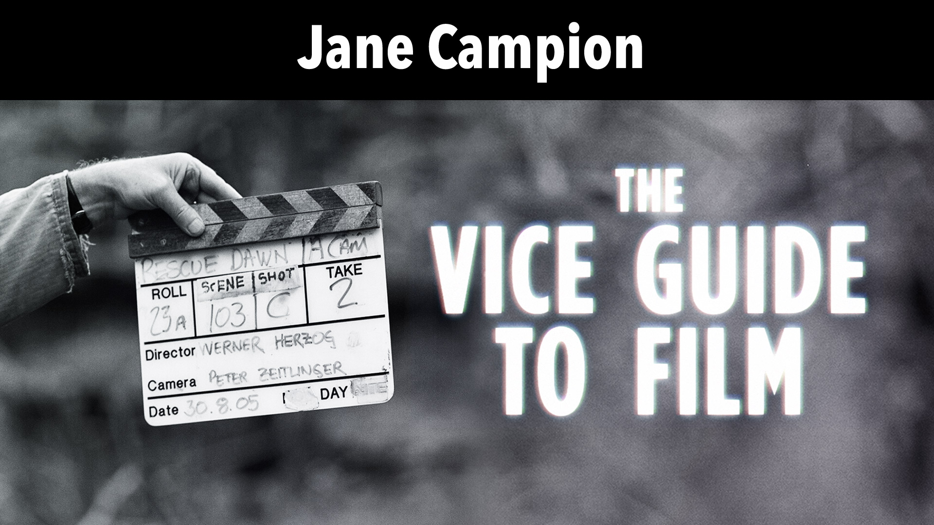 Jane Campion: Vice Guide To Film