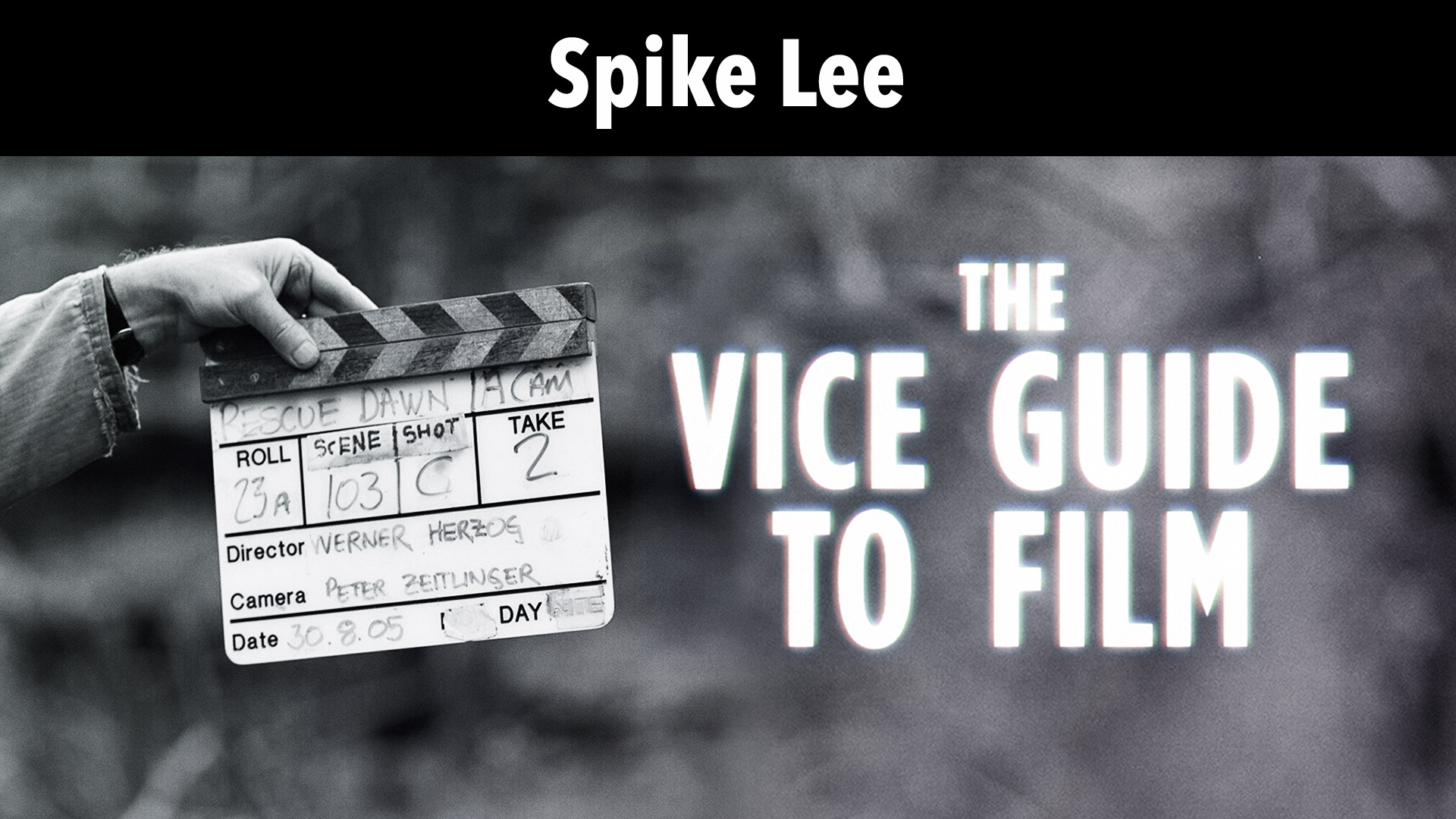 Spike Lee: Vice Guide To Film