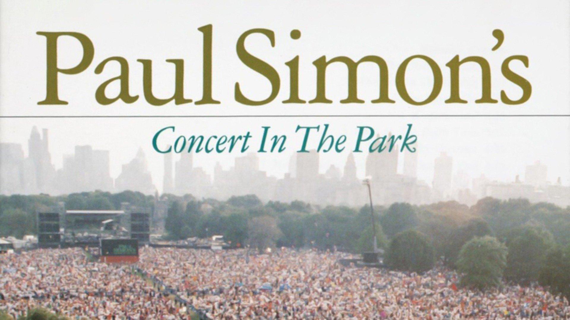 Paul Simon: Concert In The Park