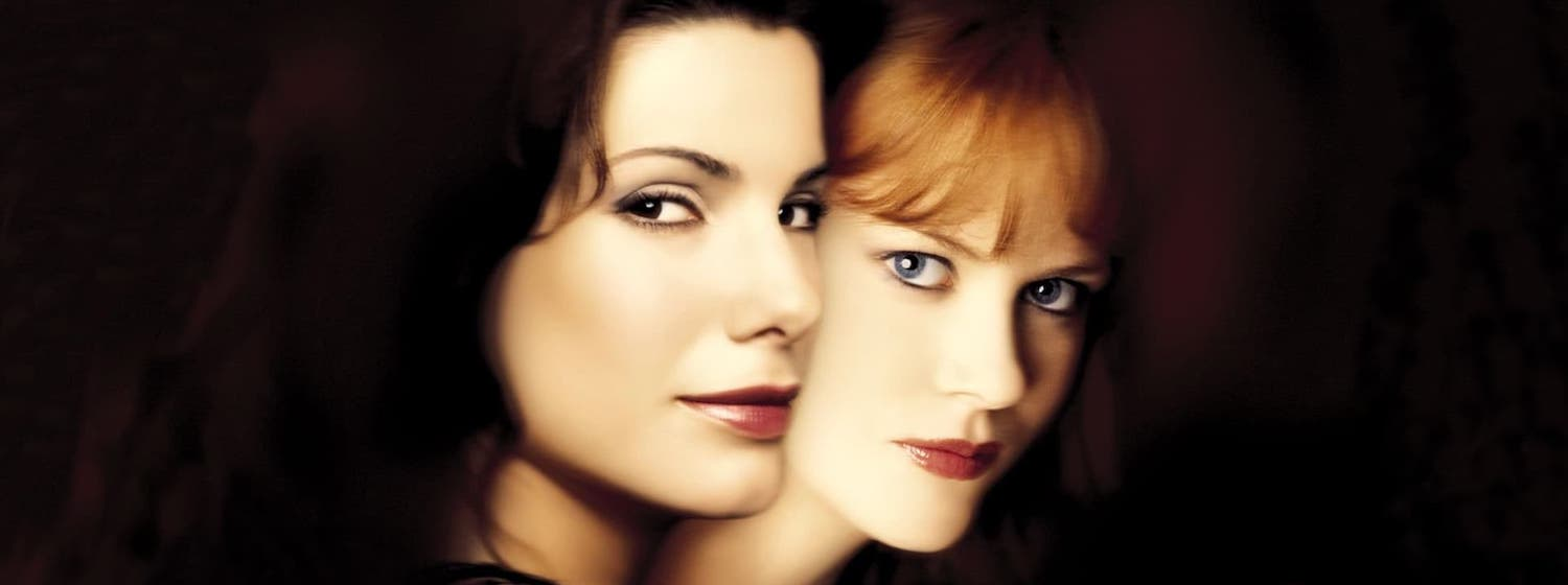 Sandra Bullock and Nicole Kidman in the poster art for Practical Magic