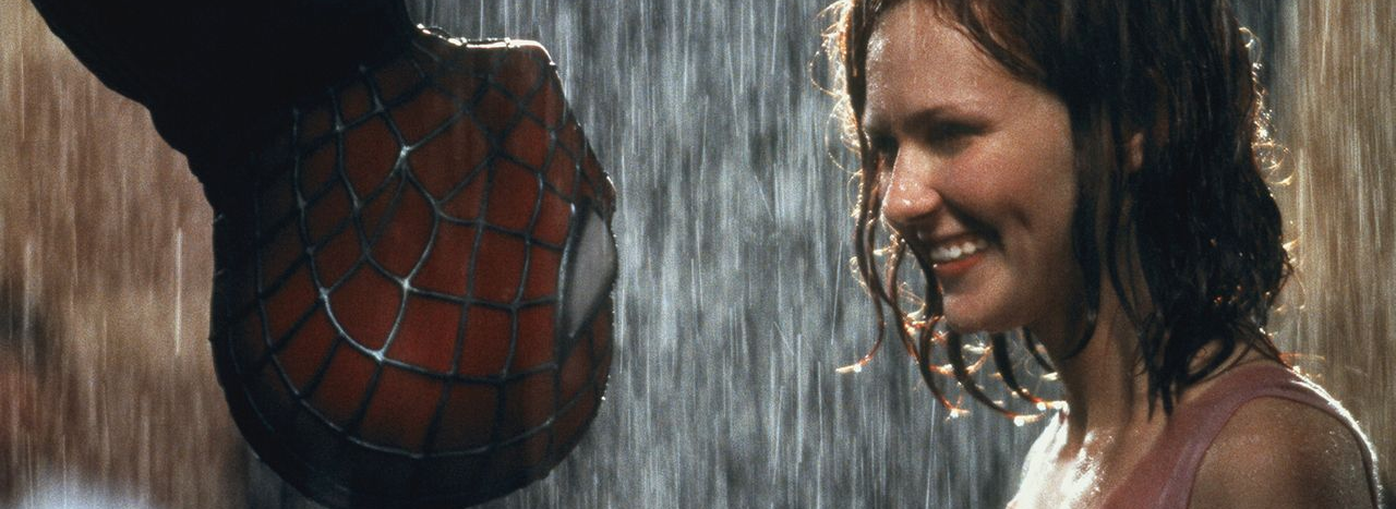 Toby Maguire and Kirsten Dunst in Spider-Man