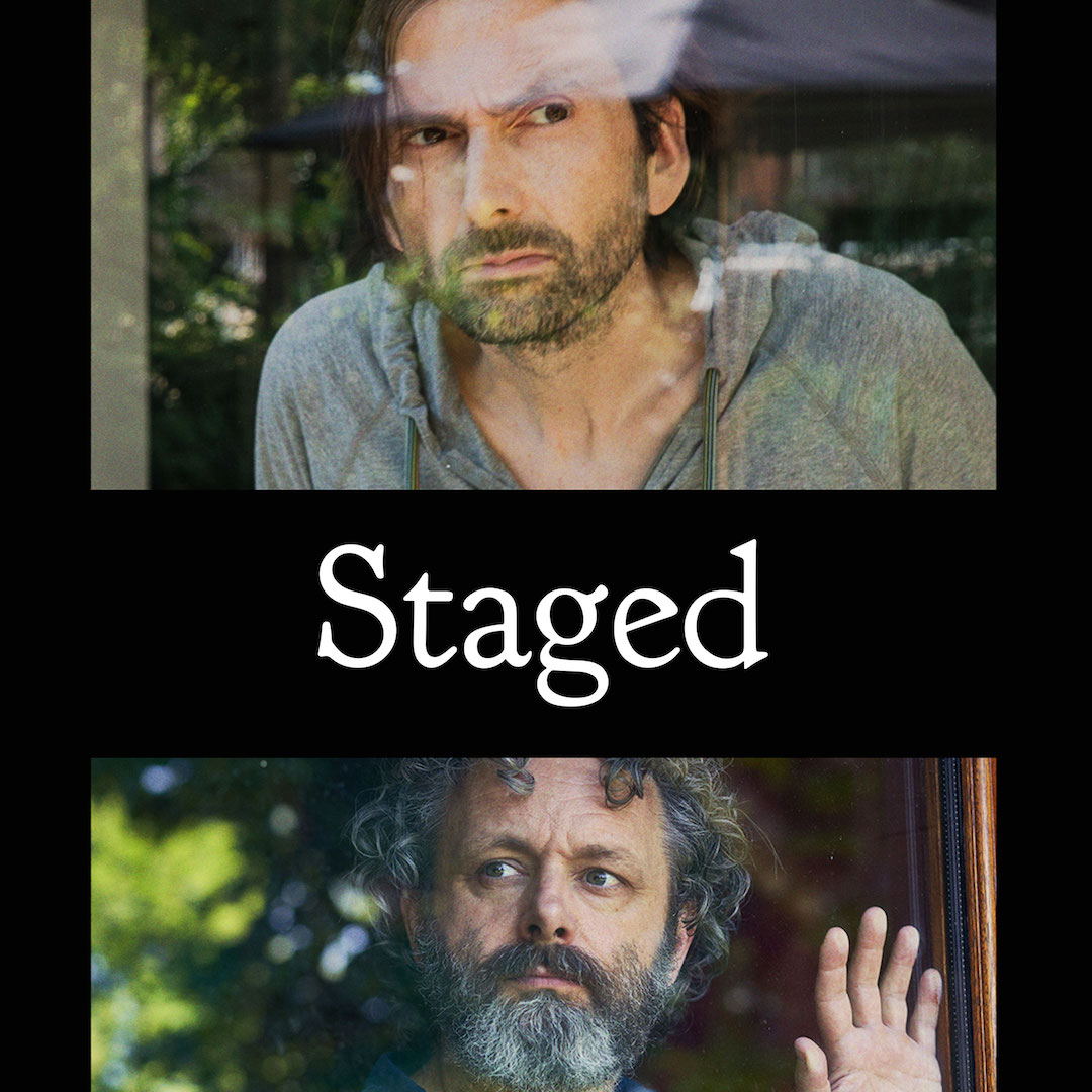 Michael Sheen and David Tennant video chat in Staged